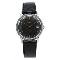 Omega 166.002 Steel 1965 Seamaster 35mm pre-owned