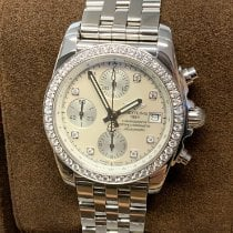 Breitling Chronomat 38 Steel 38mm Mother of pearl
