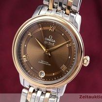 Omega De Ville Prestige Or/Acier 32.5mm Brun