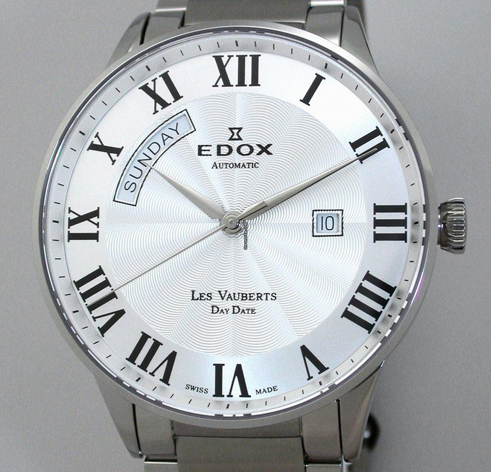 Edox Les Vauberts 83011-3B-AR 2017 nieuw