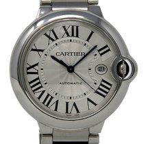 Cartier Ballon Bleu 42mm подержанные 42mm Cеребро Дата Сталь