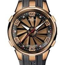Perrelet Rose gold Automatic Black 50mm pre-owned Turbine XL