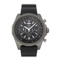 Breitling Bentley Supersports Titanium 49mm Black No numerals