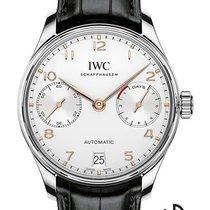 IWC Portuguese Automatic Steel 42.2mm White Arabic numerals
