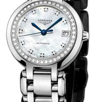 Longines PrimaLuna Steel 26.5mm Mother of pearl United States of America, New York, Airmont
