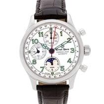 Ernst Benz Chronolunar GC20312A stainless steel White dial...