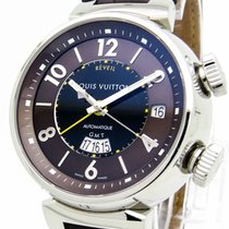 "Louis Vuitton ""Tambour Reveil GMT Alarm"" Watch -..."