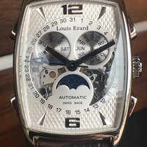 Louis Erard Steel 51mm Automatic 05211AA new