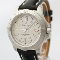 Breitling Silver Automatic Silver 41mm new Chronomat Colt