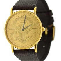Corum Coin Watch Yellow gold 35mm Yellow United States of America, New York, New York