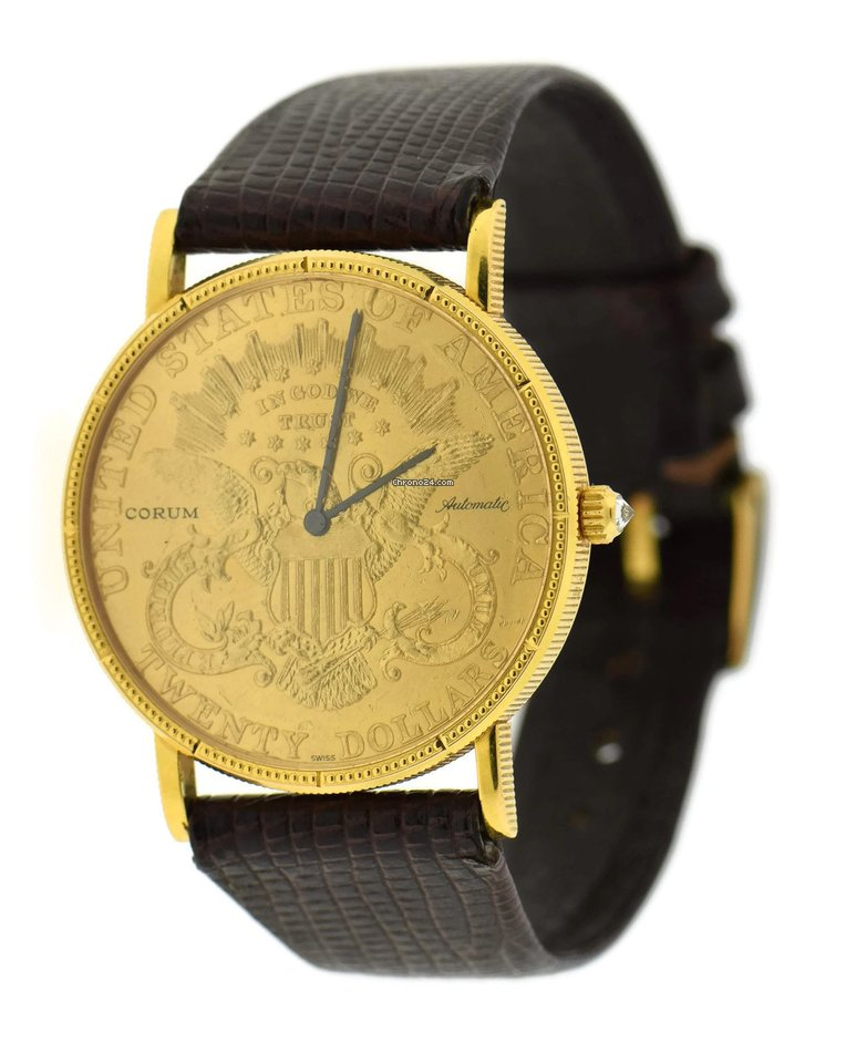 Corum 1898 $20 Gold Coin Automatic