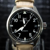 IWC Fliegeruhr Flieger Automatic Date 36mm Rare Black - 324009