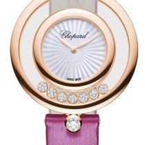 Chopard Happy Diamonds Nové Růžové zlato 32mm Quartz