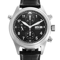 IWC Pilot Double Chronograph pre-owned 41mm Steel
