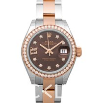 Rolex Lady-Datejust Brown