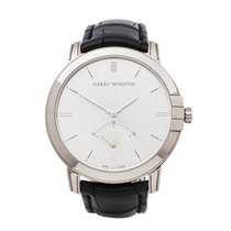 Harry Winston White gold 42mm Automatic MIDARS42WW001 new