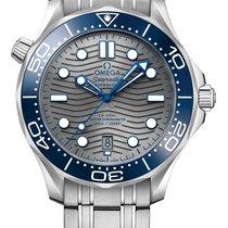 Omega Seamaster Diver 300 M nuevo 2020 Automático Reloj con estuche y documentos originales 210.30.42.20.06.001