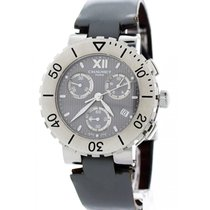 Chaumet Chronograph 40mm Quartz pre-owned Class One Silver