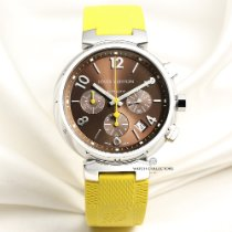Louis Vuitton Steel 41mm Automatic pre-owned