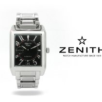 Zenith Port Royal Staal 31mm Zwart Arabisch