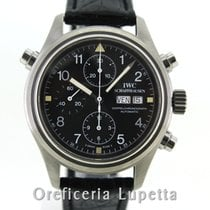 IWC Pilot Double Chronograph Staal 42mm