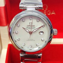 Omega De Ville Ladymatic Steel 34mm Mother of pearl