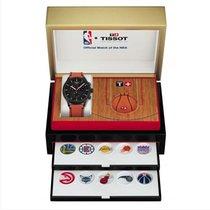 Tissot Steel 45mm Quartz Montre Tissot chrono xl NBA collector T1166173605108 new