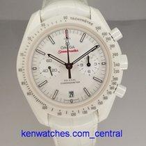 欧米茄 Speedmaster Professional Moonwatch 陶瓷 白色 无数字