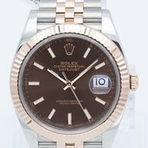 Rolex Datejust II Gold/Steel 41mm Brown No numerals United States of America, Georgia, ATLANTA