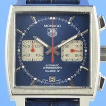 TAG Heuer CAW2111 Acier Monaco Calibre 12 39mm occasion