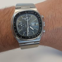 Omega Speedmaster Day Date new 1977 Automatic Chronograph Watch with original papers 176.0014