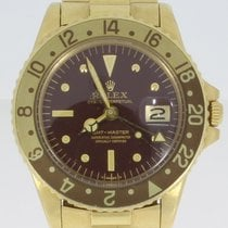 Rolex GMT-Master Yellow gold 40mm Brown No numerals