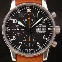 Fortis Flieger 597.10.141 pre-owned