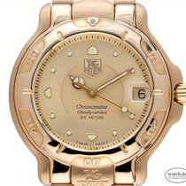 TAG Heuer 6000 Yellow gold 35mm Gold