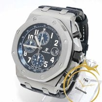 Audemars Piguet Royal Oak Offshore Chronograph gebraucht 42mm Chronograph Datum Leder