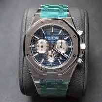 Audemars Piguet Royal Oak Chronograph Сталь 41mm Синий Без цифр Россия, Moscow
