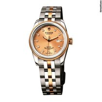 Tudor Glamour Date 53003 -  Glamour Date 31 Mm Stell/Gold Strap new