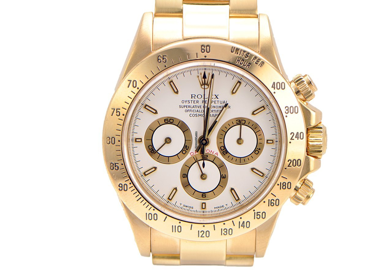 Rolex Daytona Yellow Gold Zenith Movement for Price on