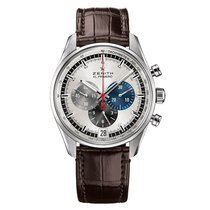 Zenith El Primero 36'000 VpH new Automatic Watch with original box and original papers 03.2040.400/69.C494