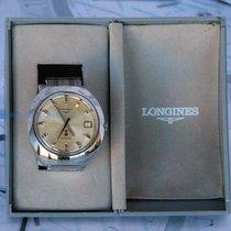 Longines Ultronic Steel 43mm Silver