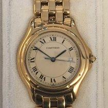 Cartier Cougar Gelbgold 33mm Römisch Deutschland, Wiesbaden
