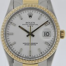 Rolex Oyster Perpetual Date Stahl/Gold 15053