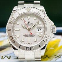 Rolex 16622 Yacht Master 16622 SS Platinum Bezel (27737)