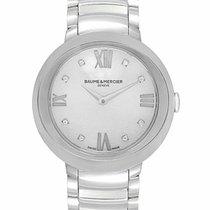 Baume & Mercier Promesse Stainless Steel Quartz Ladies Watch...