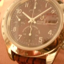 Tudor Prince Date Steel 40mm Red Arabic numerals