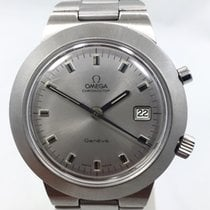 Omega Steel Manual winding pre-owned Genève