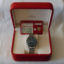 Omega Speedmaster Chronograph Triple Date Black - Box & paper