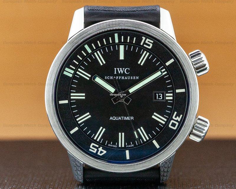 56b1a48cb82 Relógios IWC Aquatimer usados