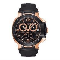 Tissot Chronograaf 45mm Quartz nieuw T-Race Zwart