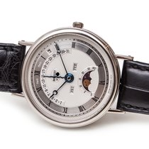 Breguet Or blanc 36mm Remontage automatique 3787 occasion France, Paris
